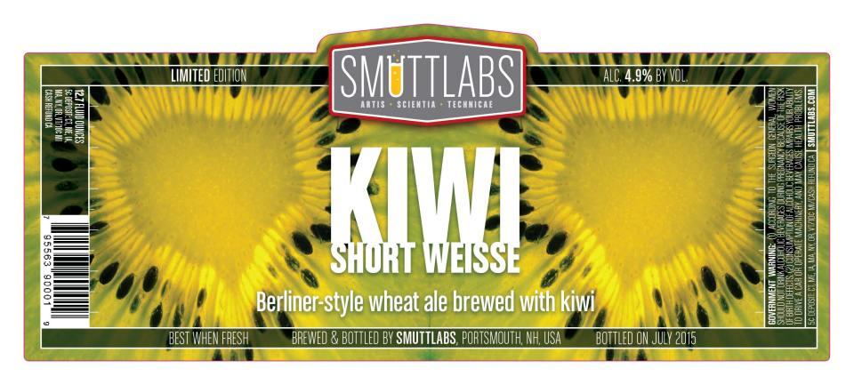 Smuttlabs Kiwi Short Weisse