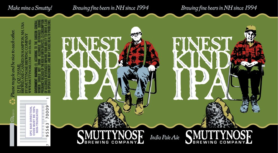 Smuttynose Finest Kind IPA Cans