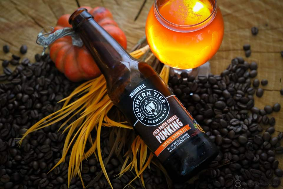 Southern Tier Cold Press Pumking bottles
