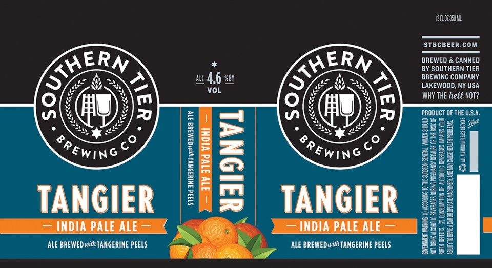 Southern Tier Tangier cans