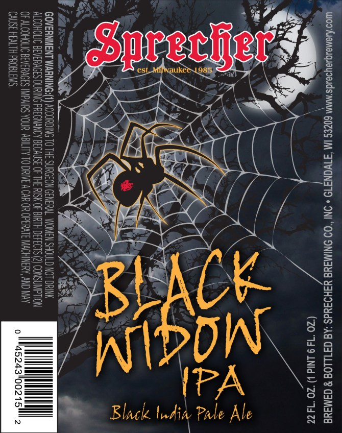 Sprecher Black Widow IPA