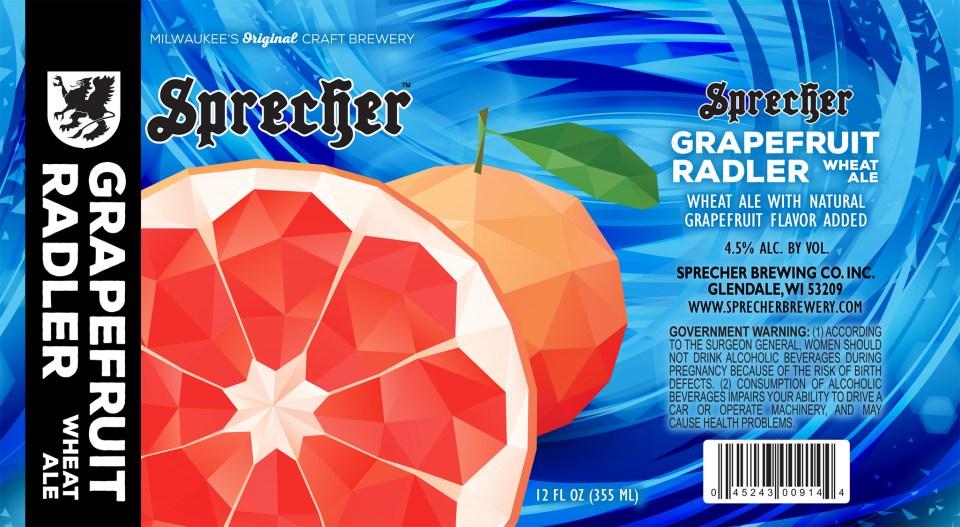 Sprecher Grapefruit Radler