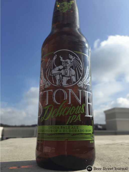 Stone Delicious IPA Bottle