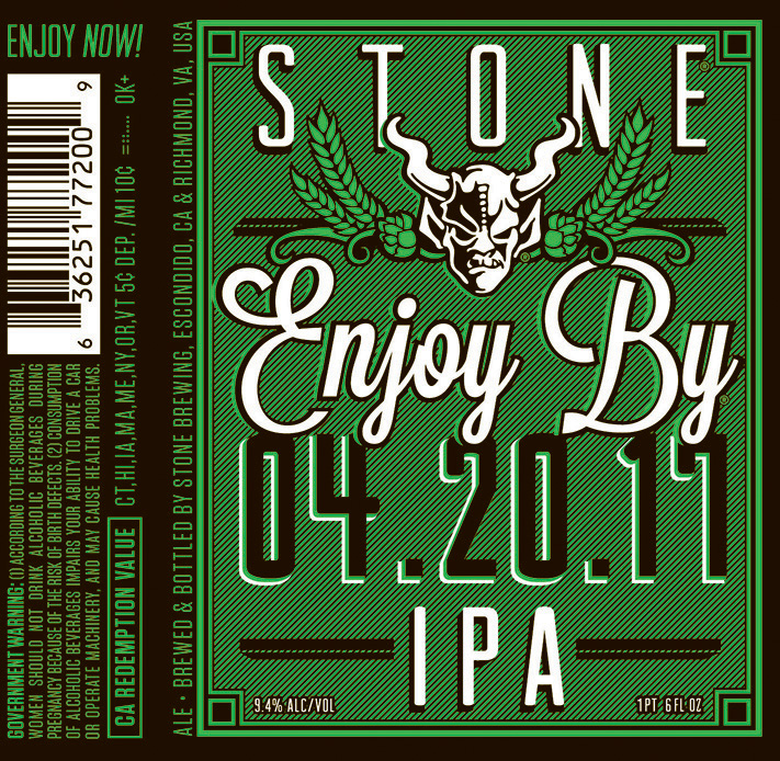 Stone Enjoy By IPA 4.20