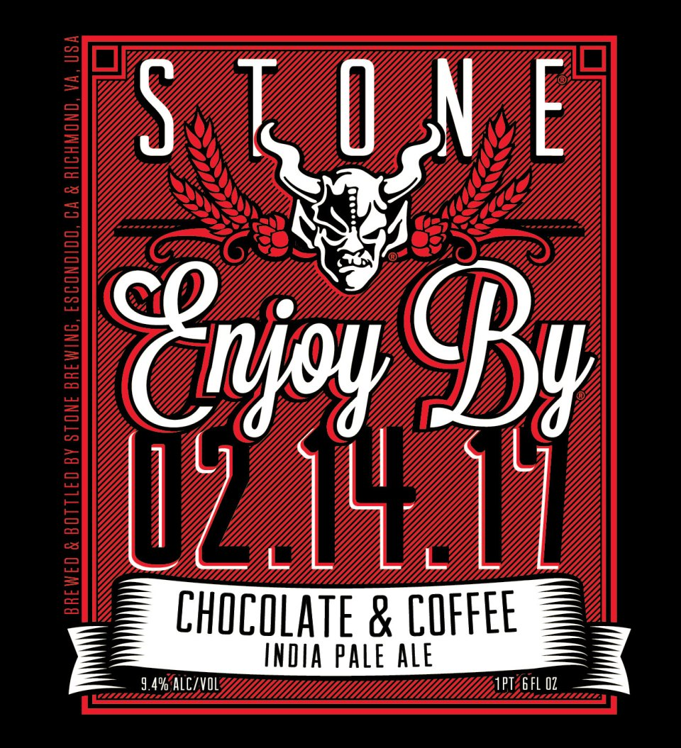Stone Enjoy By Chocolate & Coffee IPA