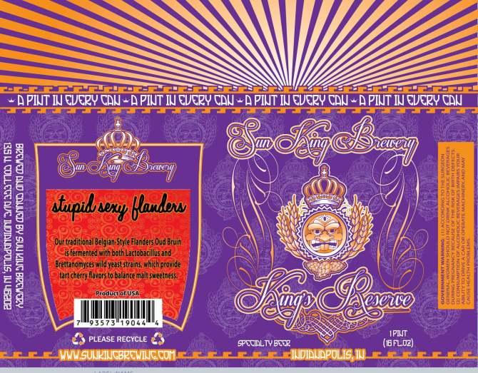 Sun King Brewery Stupid Sexy Flanders