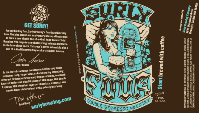 Surly Four - Imperial Milk Stout 10% (2010)