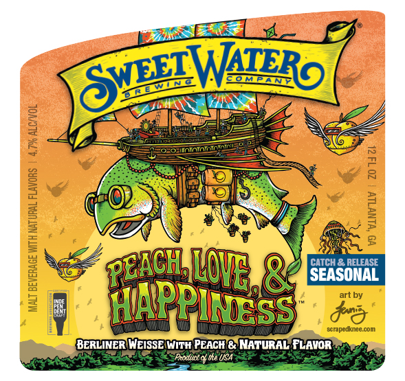 SweetWater Peach Love & Happiness