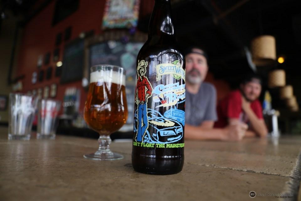 SweetWater Smokey & the Brett bottle