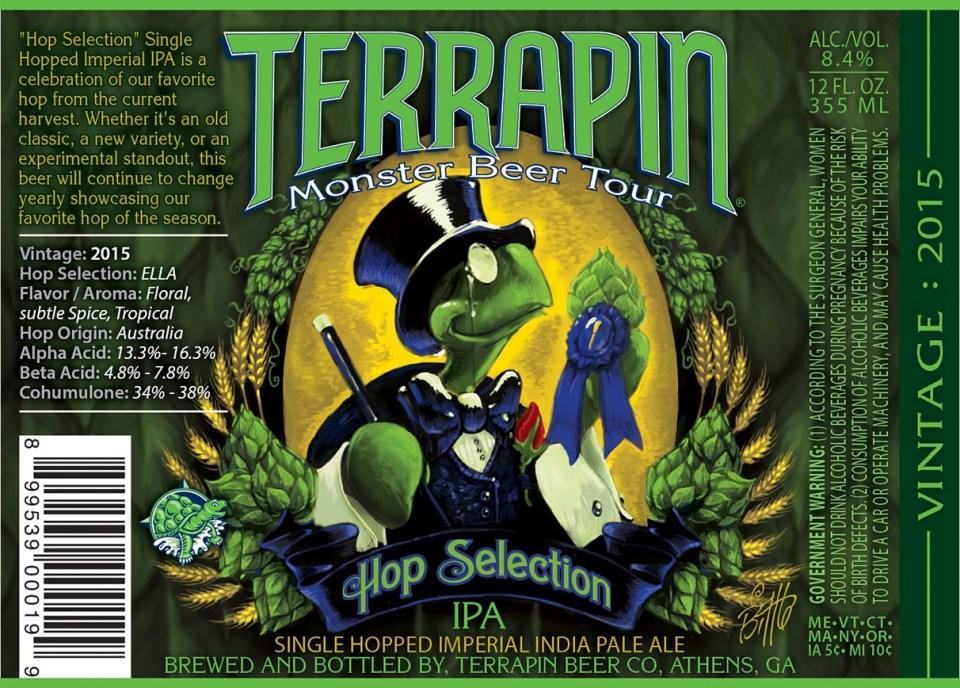 Terrapin Hop Selection IPA