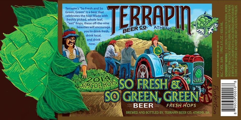 Terrapin So Fresh & So Green, Green 2014