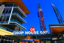 Suntrust Park Chop House Gate, just to the right of Terrapin's Brew Lab