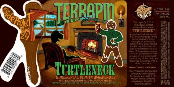 Terrapin Turtleneck Gingerbread WInter Warmer