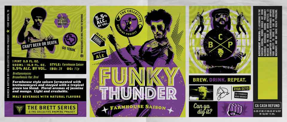 The Collective Brewing Project Funky Thunder