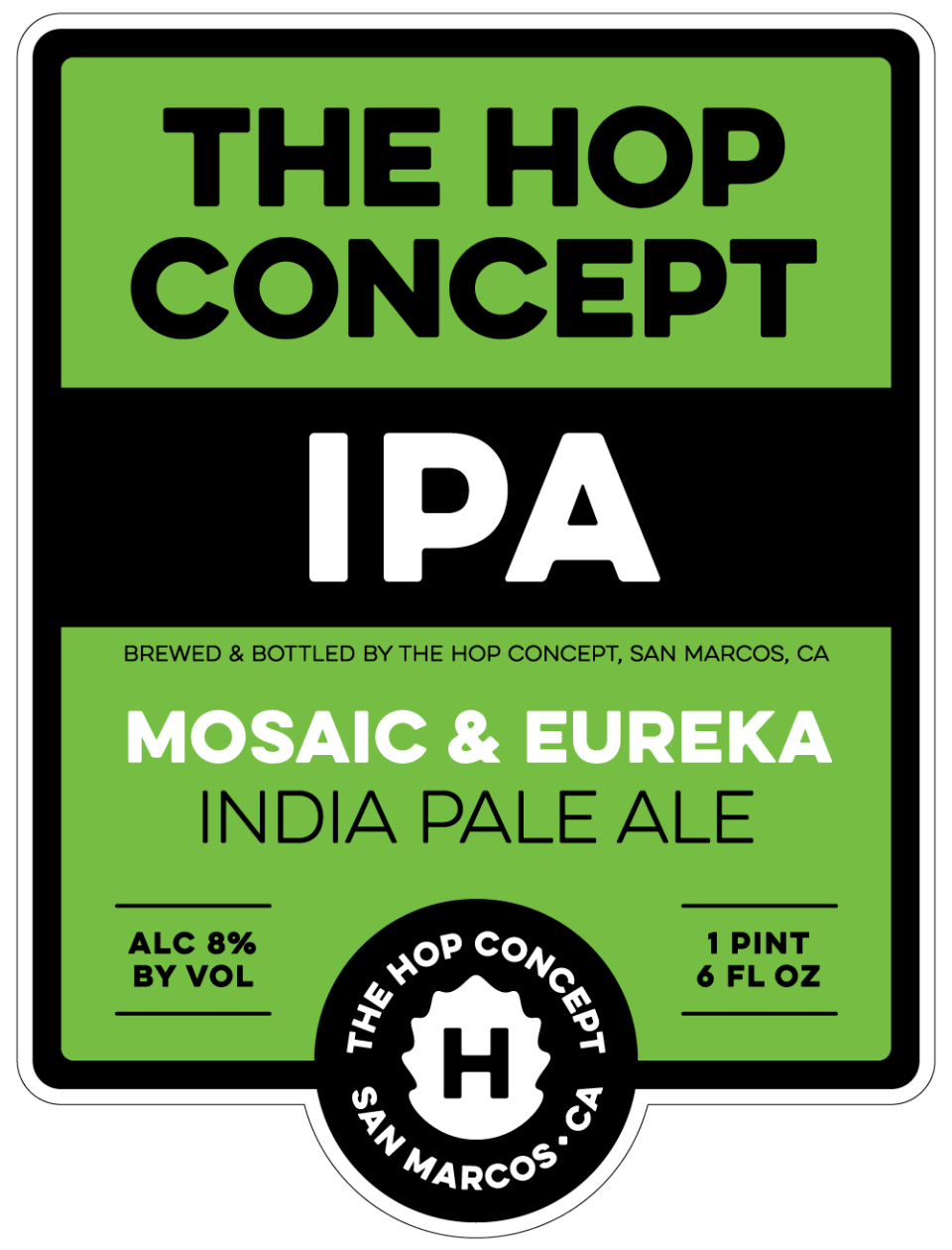 The Hop Concept Mosaic and Eureka