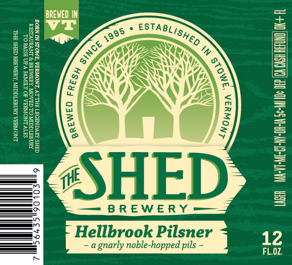 The Shed Brewery Hellbrook Pilsner