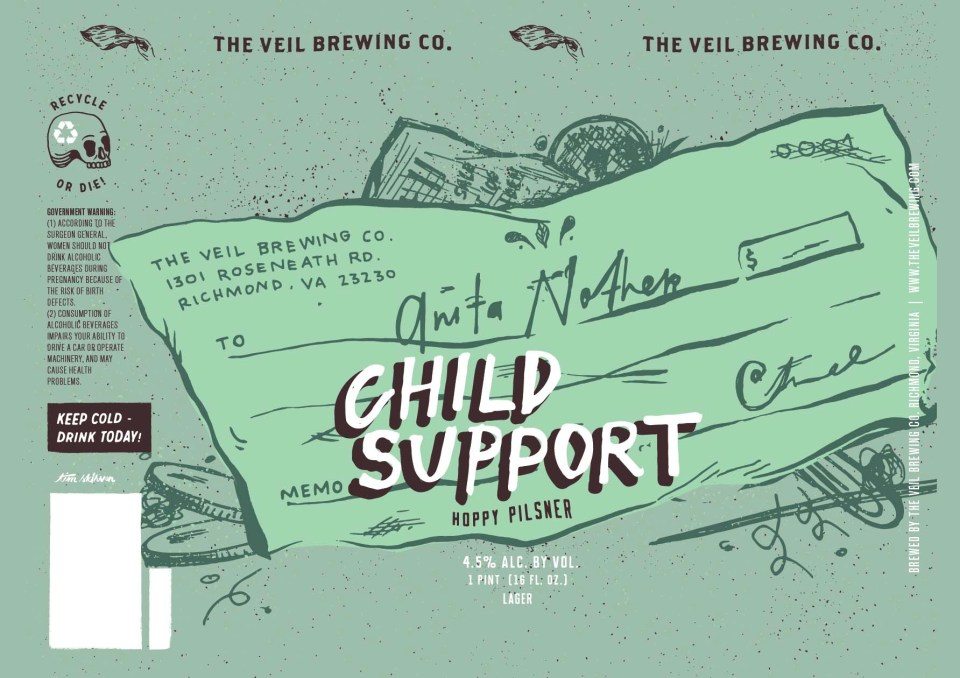 The Veil Brewing Child Support