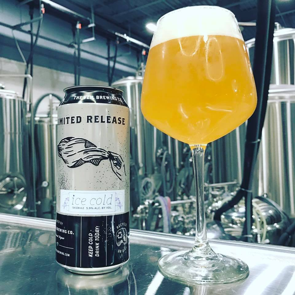 The Veil Brewing Ice Cold