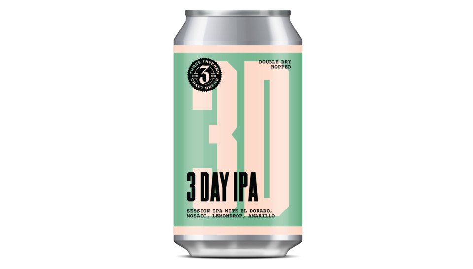 Three Taverns 3 Day IPA