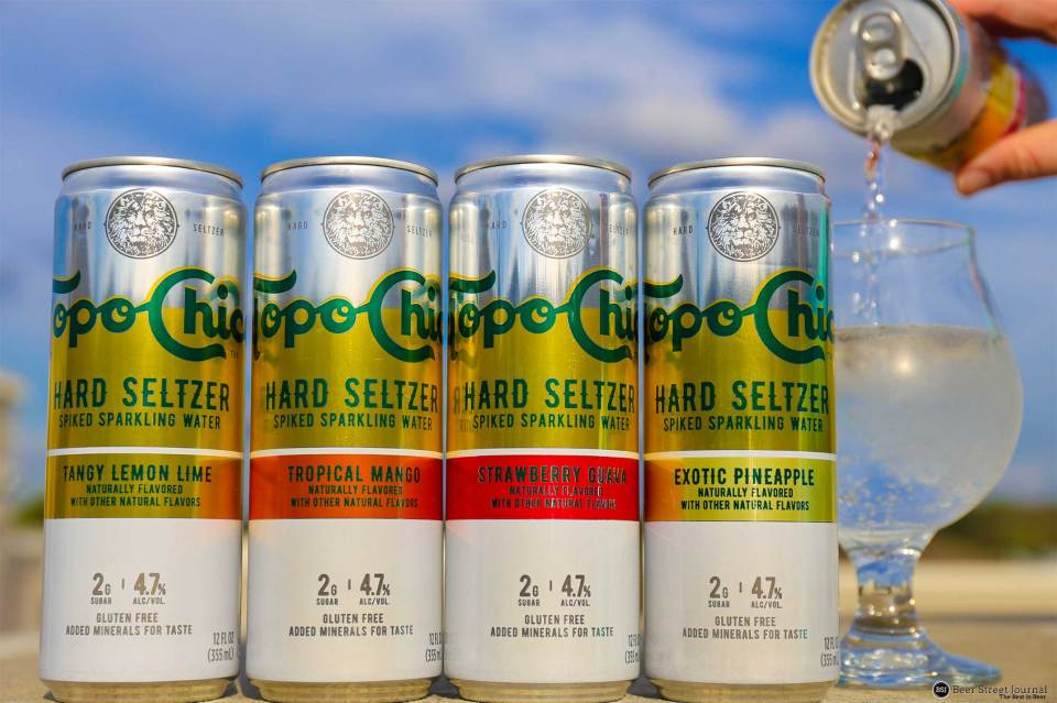 Topo Chico Hard Seltzer Cans