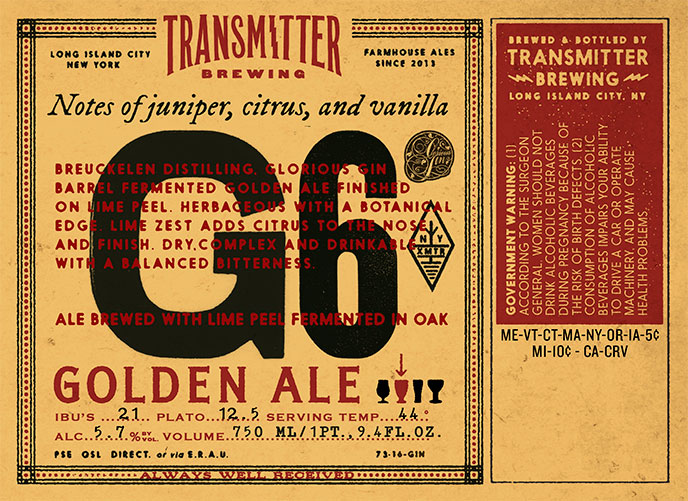 Transmitter G6 Golden Ale