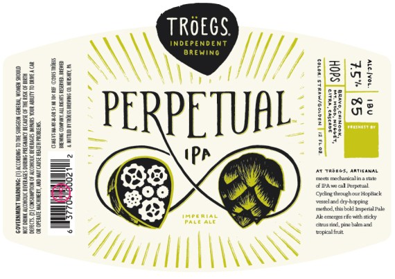 17676 Troegs - Perpetual -12oz-Label
