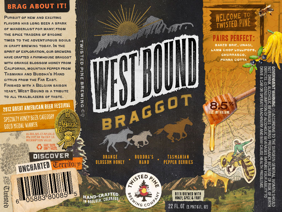 Twisted Pine Westbound Braggot