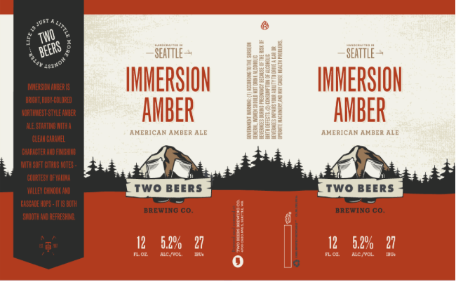 Two Beers Immerson Amber