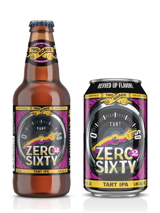 Two Roads Zero 2 Sixty Tart IPA