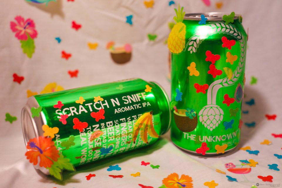 Unknown Brewing Scratch n Sniff can