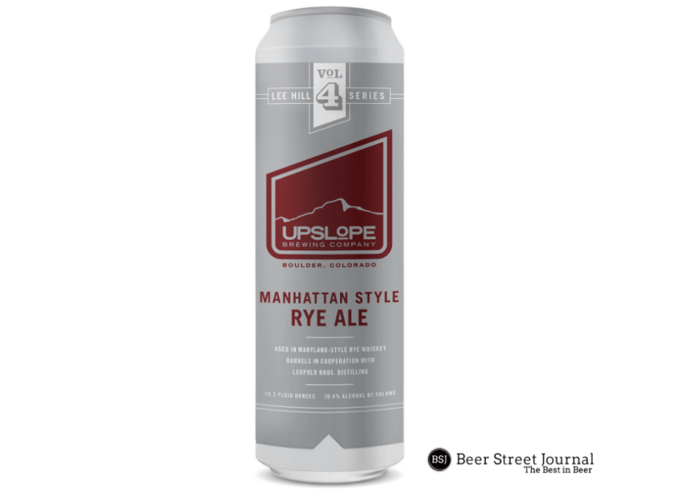 Upslope Manhattan Style Rye