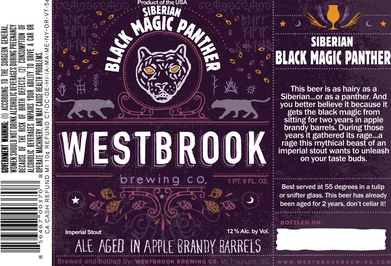 westbrook apple brandy siberian black magic panther