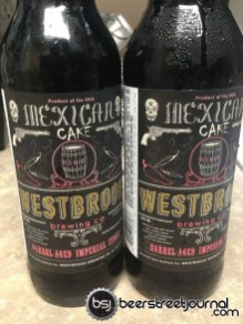Westbrook Barrel Aged Mexican Cake