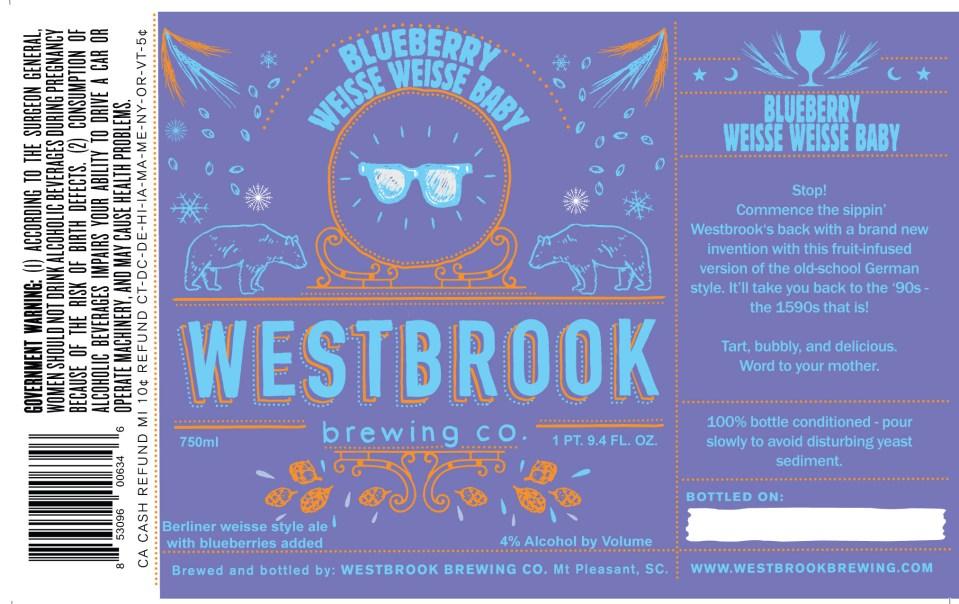 Westbrook Blueberry Weisse Weisse Baby