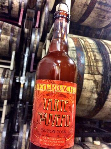 Weyerbacher Tart Nouveau Blood Orange