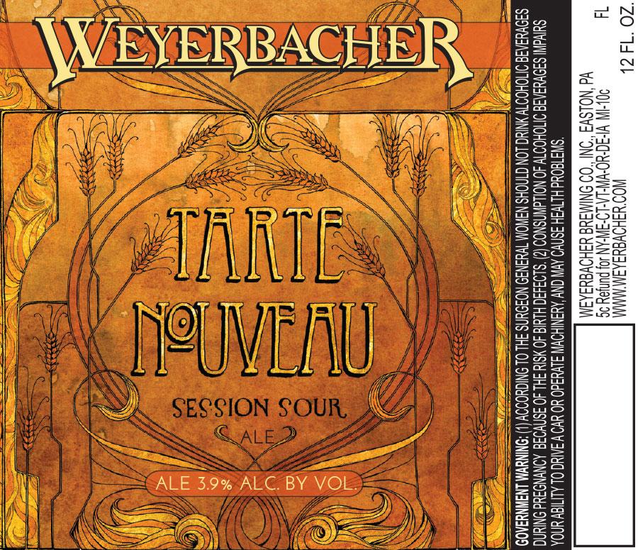 Weyerbacher Tarte Nouveau