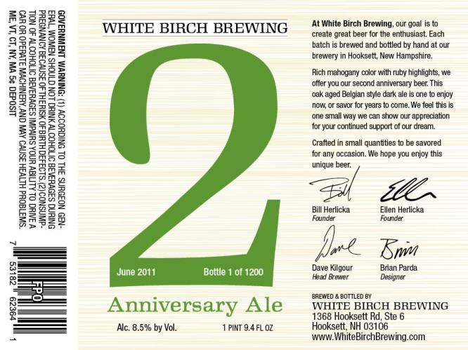 White Birch 2 Anniversary