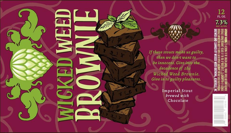Wicked Weed Brownie