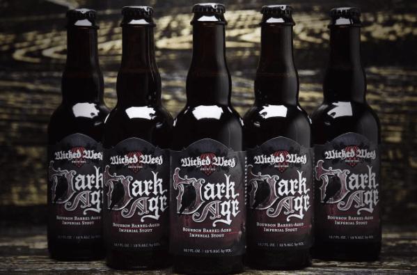 Wicked Weed Dark Age bottles