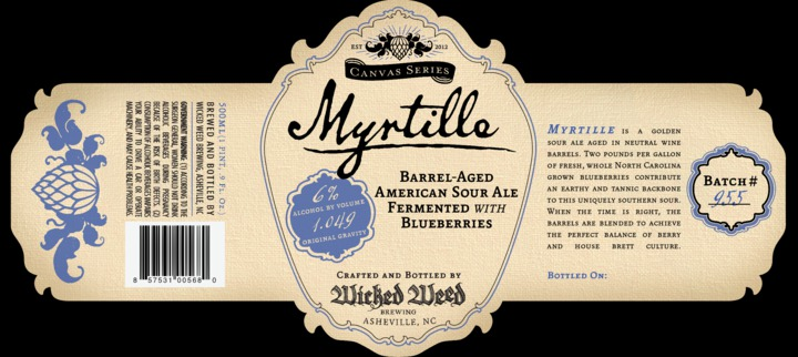 Wicked Weed Myrtille