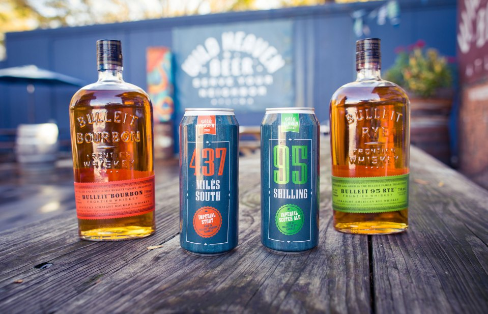 Wild Heaven Bulleit Collaboration
