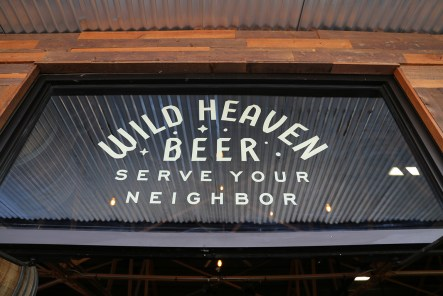 Wild Heaven's new entrance