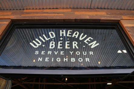 Wild Heaven's new entrance