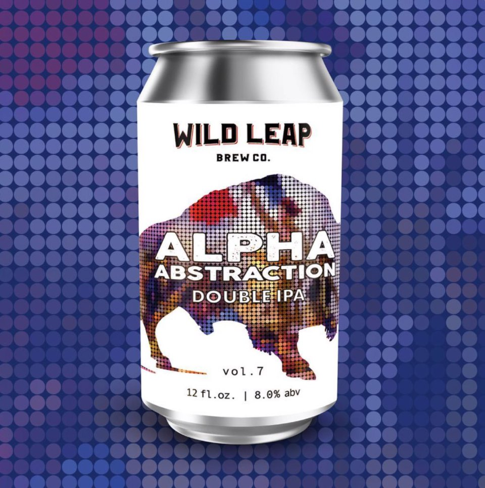 Wild Leap Alpha Abstraction Volume 7