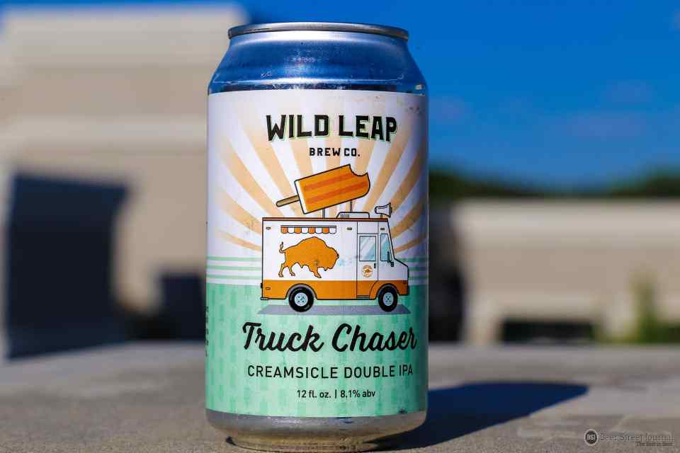 Wild Leap Creamsicle Double IPA can