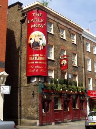 Barley Mow, Marylebone. Photo: Flickr user Ewan-M