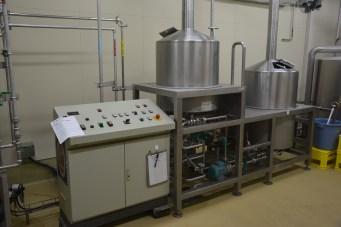 Baird Beer Brewery setup for Numazu