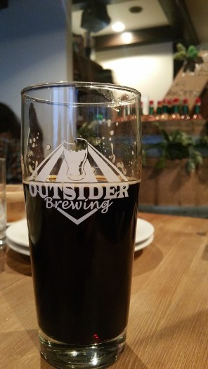 Hops and Herbs Outsider Darkside Imperial Stout