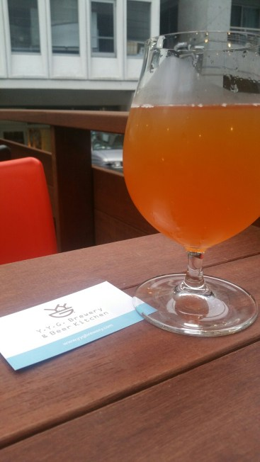 YYG Brewery and Beer Kitchen Brewery Beer 2