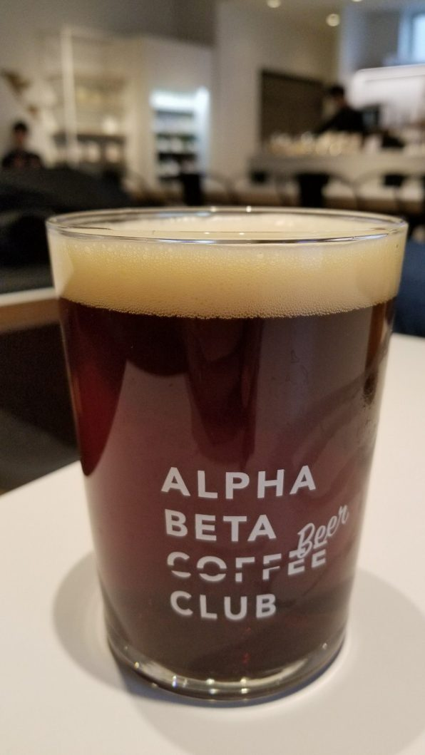 Alpha Beta Coffee Club Beer 2